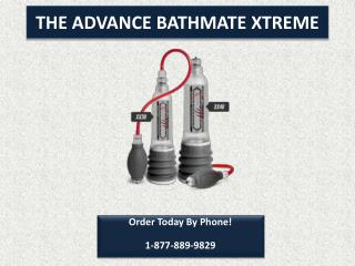 Bathmate USA | Penis enlargement The Natural Way!