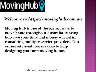 Moving Company Melbourne