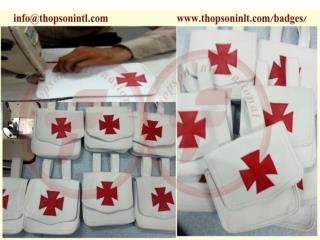 Knight Templar alms bag