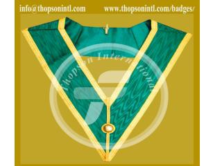 Masonic allied degree full dress officer collar