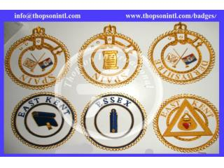 Masonic apron badge