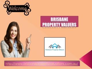 Brisbane Property Valuers for house valuations