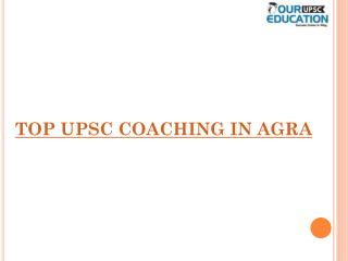 Best upsc coaching in agra