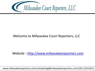 Court reporters in milwaukee