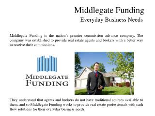 Middlegate Funding - Everyday Business Needs