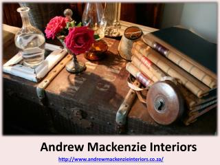 Andrew Mackenzie - Modern Home Interior Design