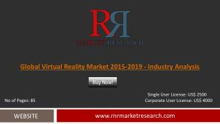 Virtual Reality Market 2015 – 2019: Worldwide Forecasts and Analysis
