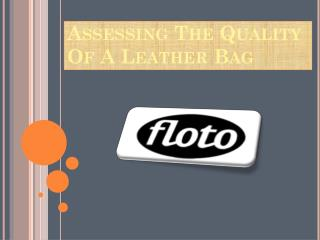 Leather Briefcases for Men at Floto Imports
