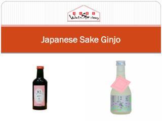 Japanese Sake  Ginjo