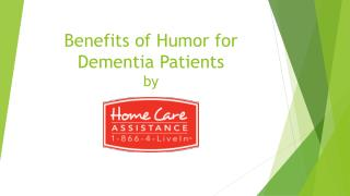 Benefits of Humor for Dementia Patients