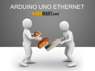 Arduino Uno Ethernet by ROBOMART