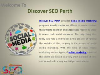 Social Media Marketing Perth