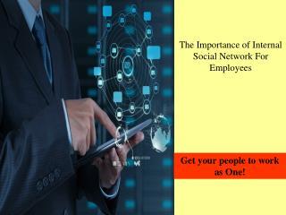 Internal Social Network For Employees, Enterprise Social Network