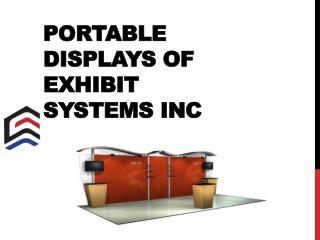 Portable Displays of Exhibit Systems Inc