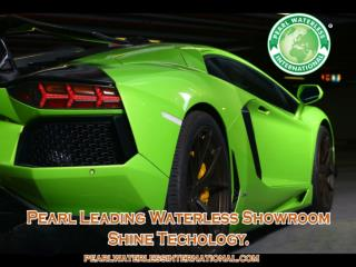 A Water Saver Products for Car Care - Pearl Waterless