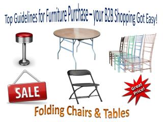 Top Guidelines for Furniture Purchase – your B2B Shopping Got Easy