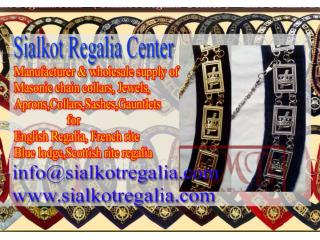 Masonic chain collar Knight Templar