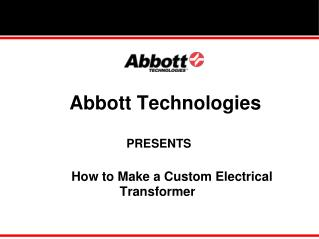How to Make a Custom Electrical Transformer