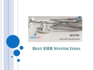EHR Software Product India