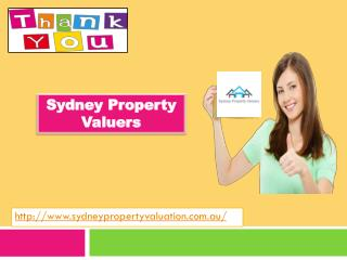 Sydney Property Valuers for property valuer