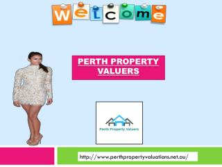 Perth Property Valuers for house valuation