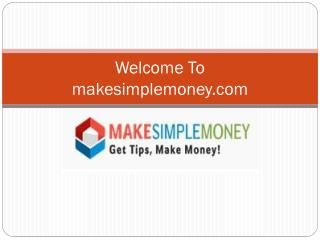 Make Simple Money