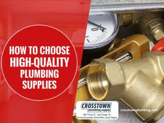 Tips to Choose Bathroom Plumbing Supplies