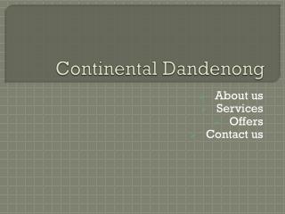 Continental Tyres Dandenong