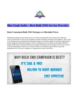 Best Bulk SMS service Provider