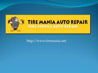 Tire Mania Auto Repair Tampa