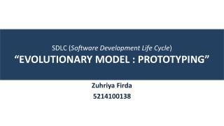 SDLC Prototyping