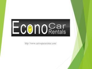 Econo Carros Para Rentar  Alquiler De Carros Tampa Carros Rentados