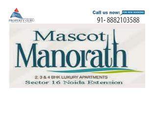 Mascot Soho Manorath 2/3 BHK Residential Flats, Noida Extension