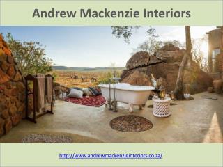 Andrew Mackenzie - Residential Interior Designers