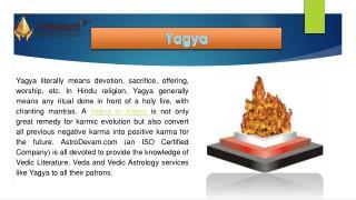 Vedic Yagya - powerfull pooja for All Purpose