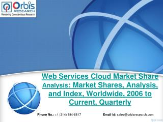 Web Services Cloud Market 2015 Research Report