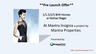 Pre Launch Offer in Keshav Nagar pune