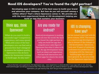 An Innovative IPhone Application Development