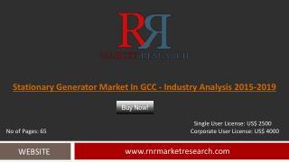 GCC Stationary Generator Market
