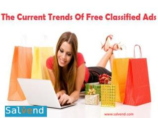 The current trends of Free Classified Ads