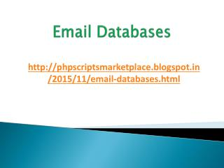 India, UAE, UK, USA Email Database