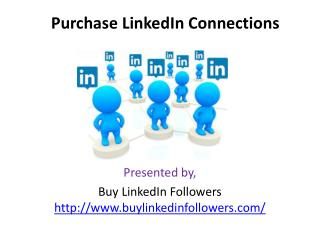 Purchase LinkedIn Connections