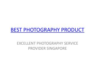 Best photography product