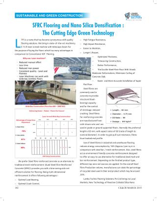 SFRC Flooring and Nano Silica Densification - The Cutting Edge Green Tec...4