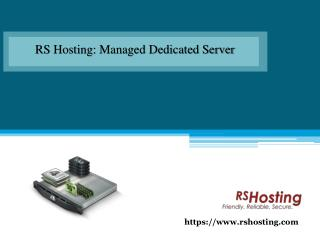Web Hosting Services By RS Hosting