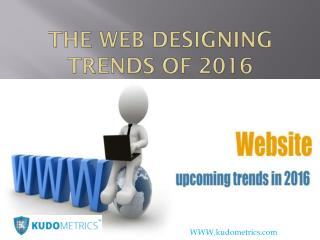 The Web Designing Trends of 2016
