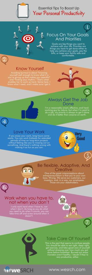 Essential Tips To Boost Up Your Personal Productivity