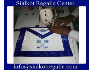 Masonic regalia officer apron