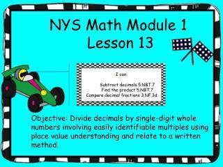 EngageNY grade 5 module 1 lesson 13