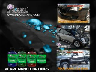 Super Hydrophobic - self cleaning Properties - Pearl Nano Coatings
